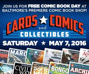 Free Comic Book Day web graphics
