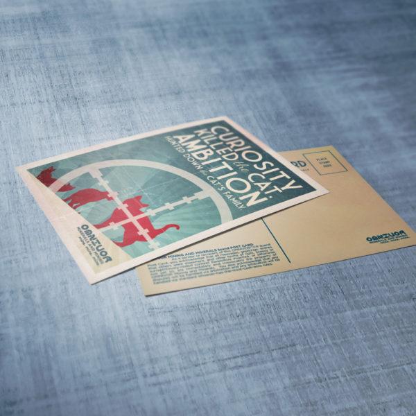 Omnivor Retro Postcards