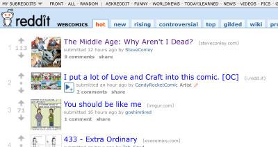 Reddit webcomics week two