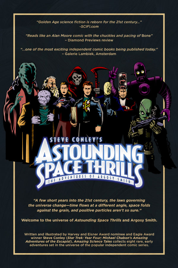 AST: Amazing Science Tales back cover