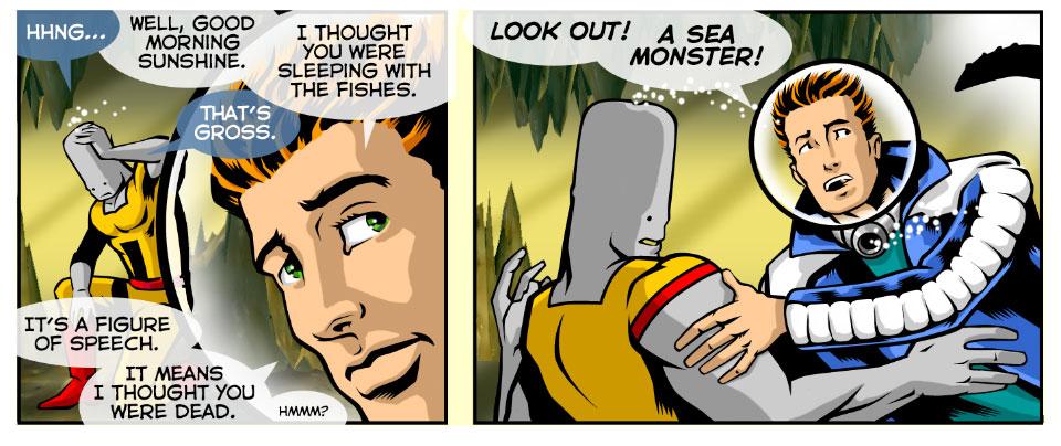 A Sea Monster!