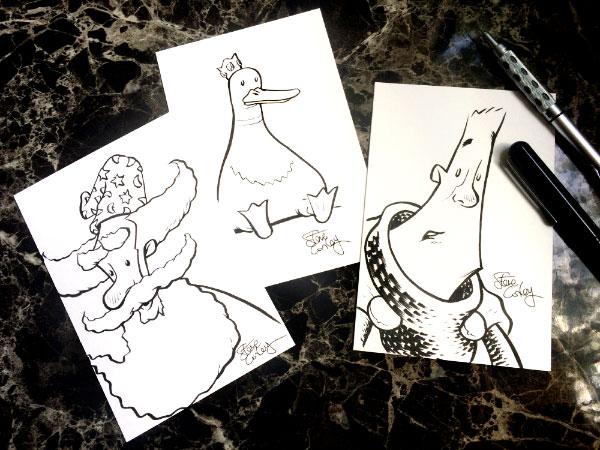 Sketch Postcards!