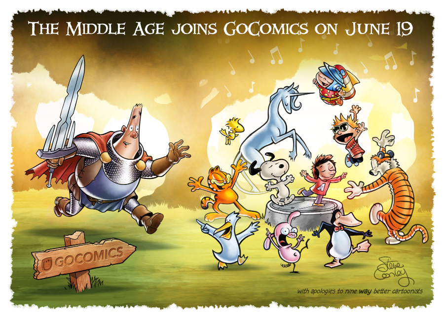 The Middle Age Joins GoComics