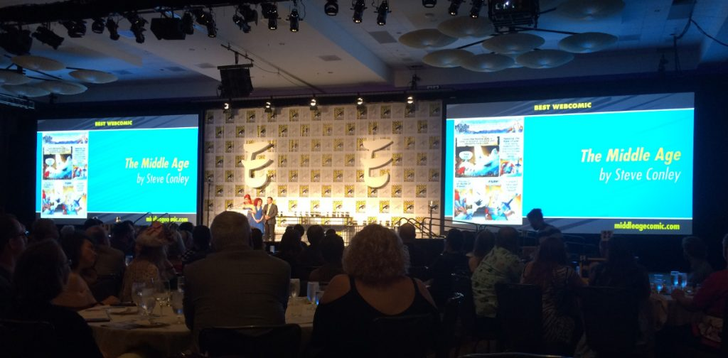 The Middle Age at the Eisner Awards