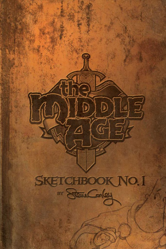 The Middle Age: Sketchbook No. 1 cover
