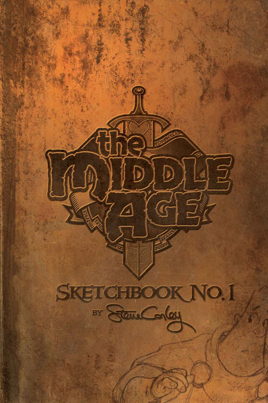 The Middle Age: Sketchbook No. 1: Softcover Edition