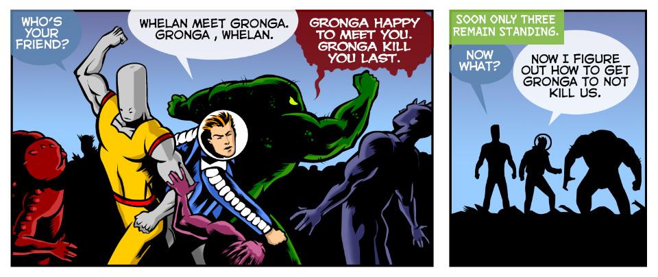 Gronga happy to meet you!