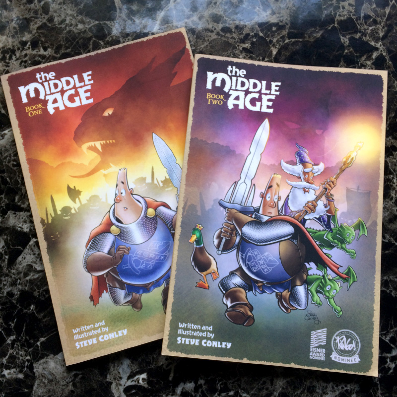 The Middle Age Book One and Book Two