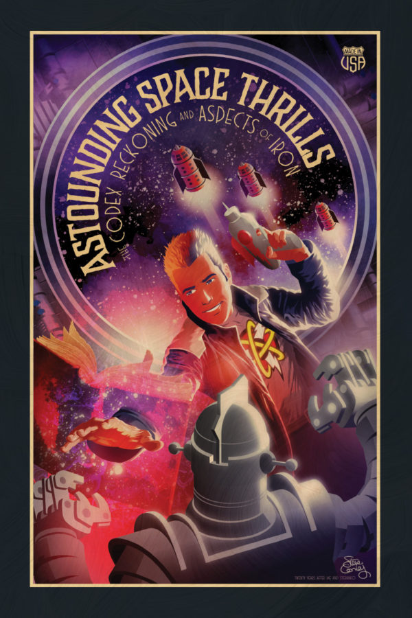 Astounding Space Thrills: The Codex Reckoning and Aspects of Iron