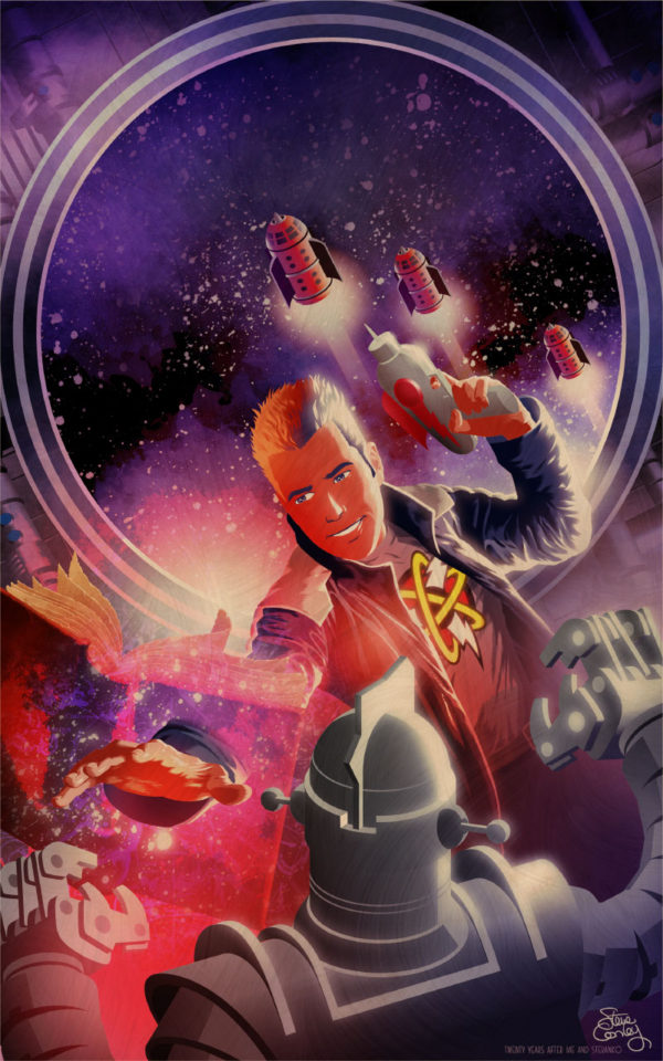 Astounding Space Thrills 2018 cover
