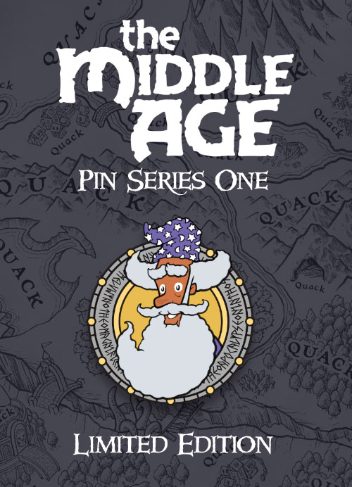 Melvwyn the Magnificent - The Middle Age Pin Series One