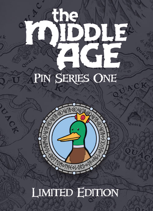 Waddlebottom - The Middle Age Pin Series One