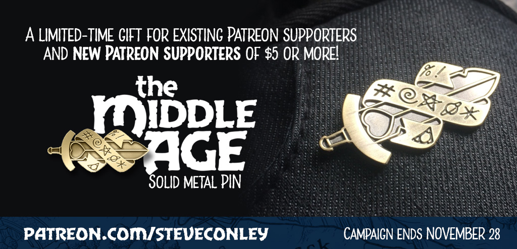 The middle Age Patreon Special Offer - round 2