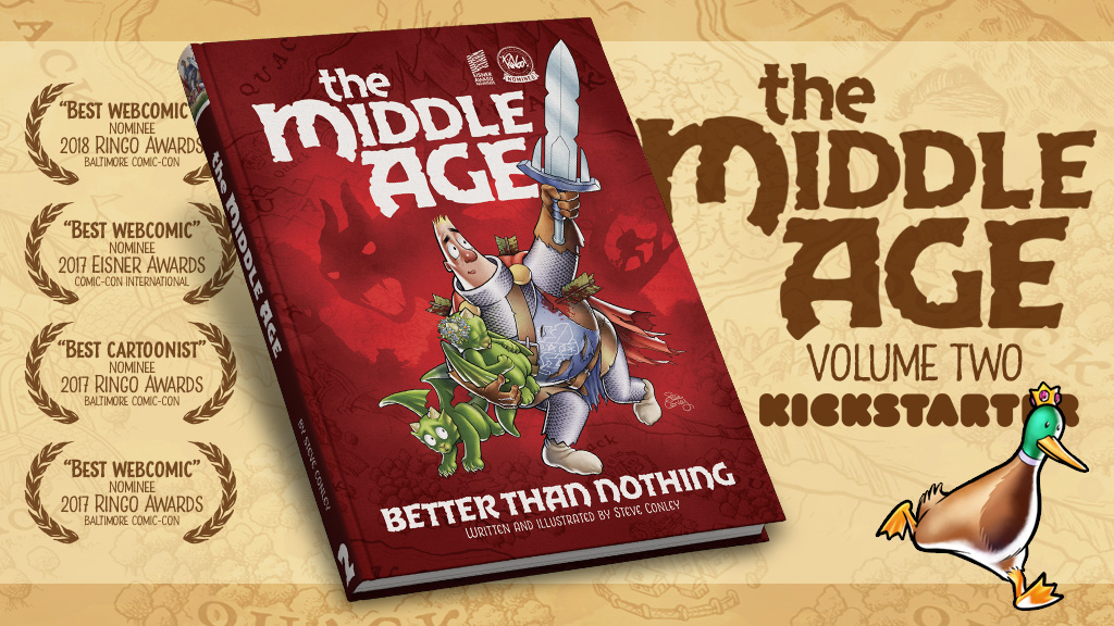 The Middle Age Vol 2 Kickstarter