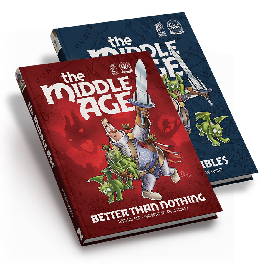 The Middle Age: Volume 1 And 2 Hardcovers