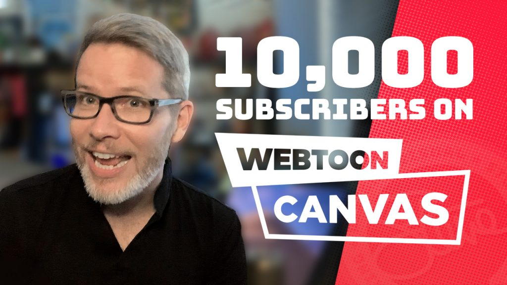 10,000 subscribers on WEBTOON Canvas