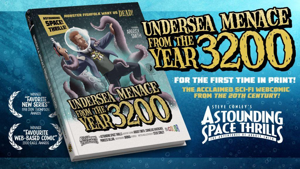 Astounding Space Thrills Kickstarter cover