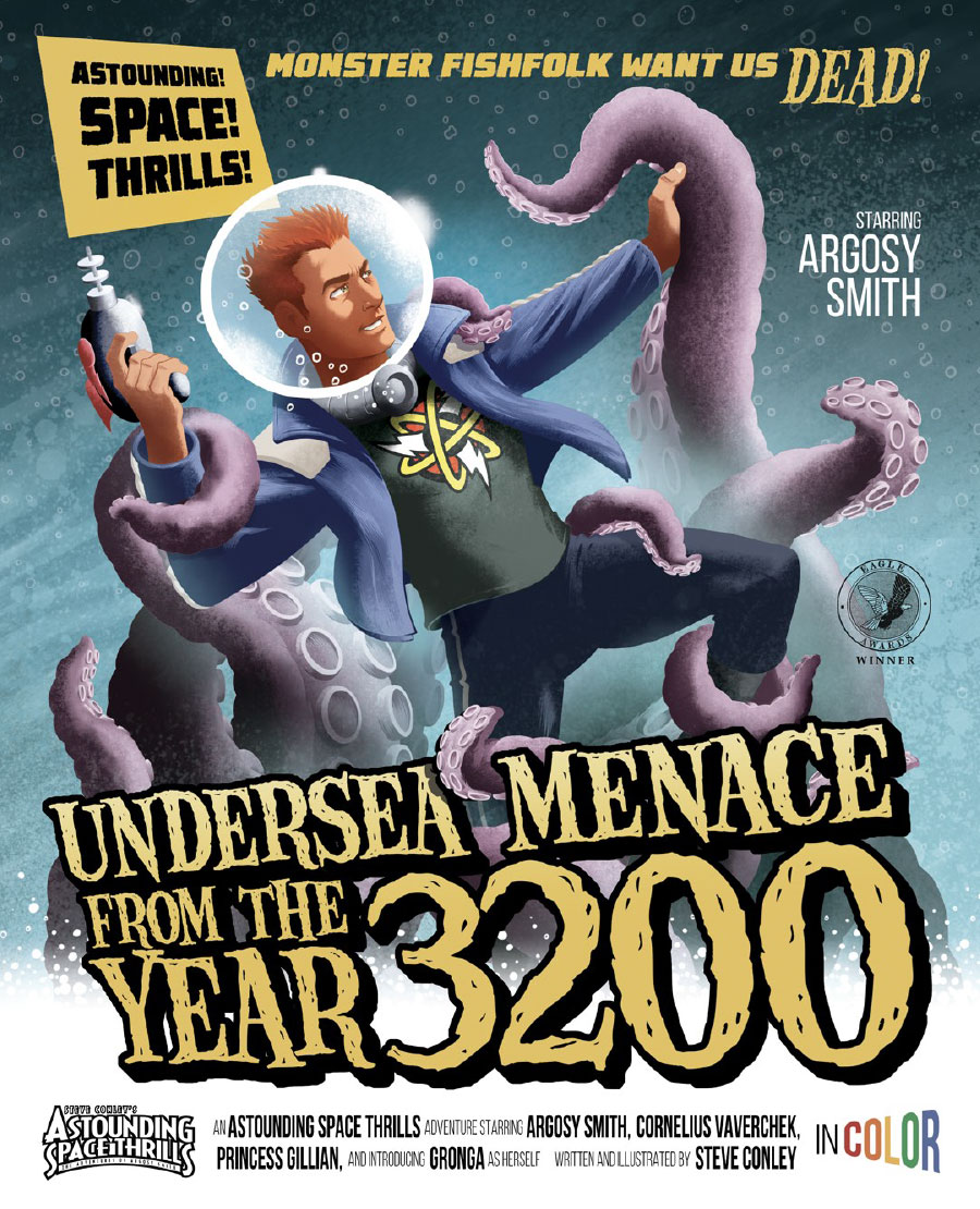 Astounding Space Thrills: Undersea Menace From The Year 3200: Digital Edition